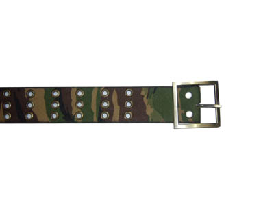 Female genuine leather press belt